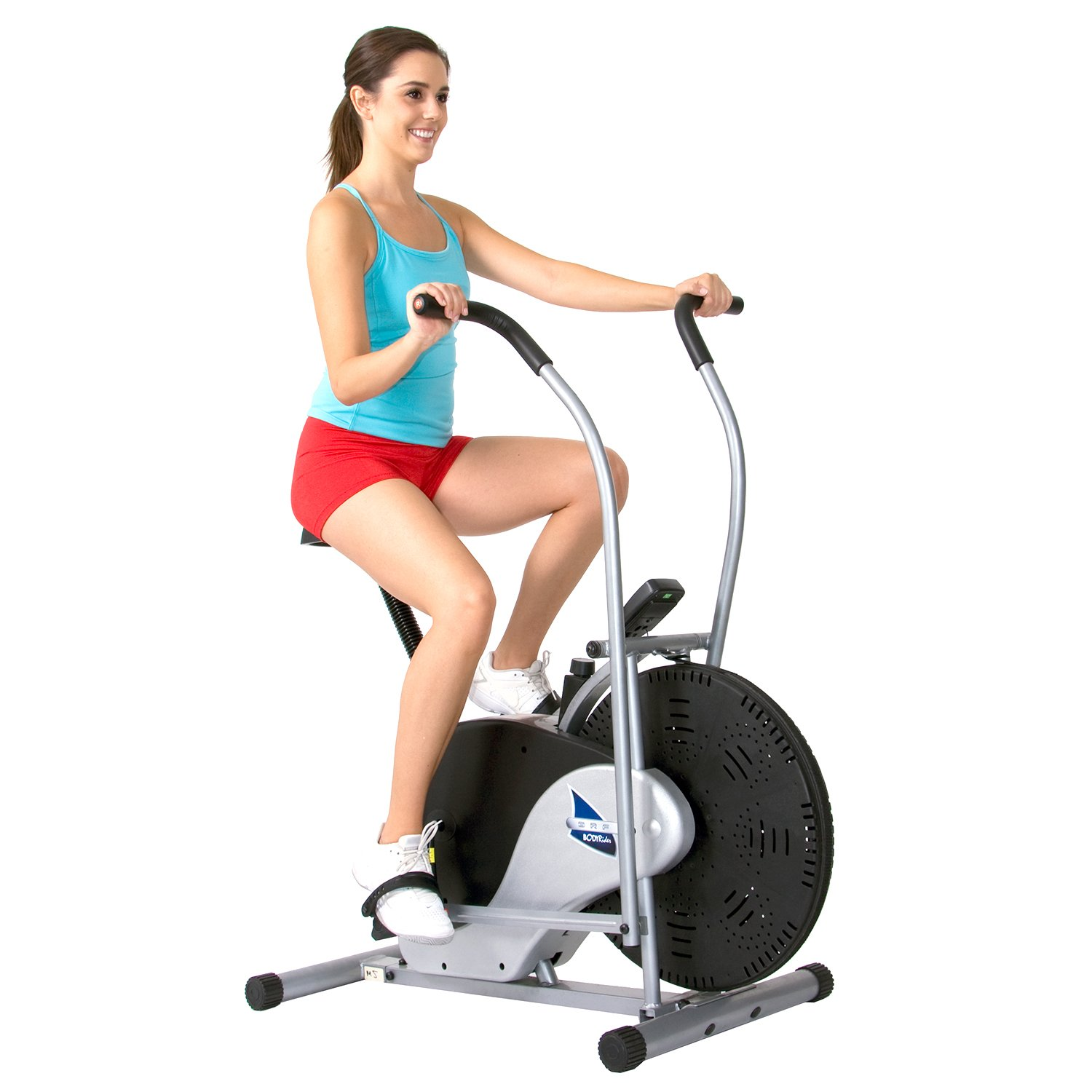 Body Rider Exercise Upright Fan Bike (with UPDATED Softer Seat) Stationary Fitness/Adjustable Seat BRF700 by Body Rider (Image #4)