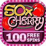 Slot Machine - 50x Cherry Free Vintage Casino Game