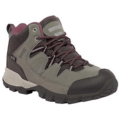 Regatta Mens Alderson Mid Waterproof Padded Suede Walking Boots bhmvvn