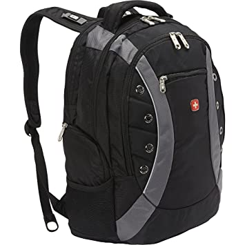 b7ed3857be24 Swiss Gear Black Laptop Backpack - Buy Swiss Gear Black Laptop Backpack  Online at Low Price in India - Amazon.in