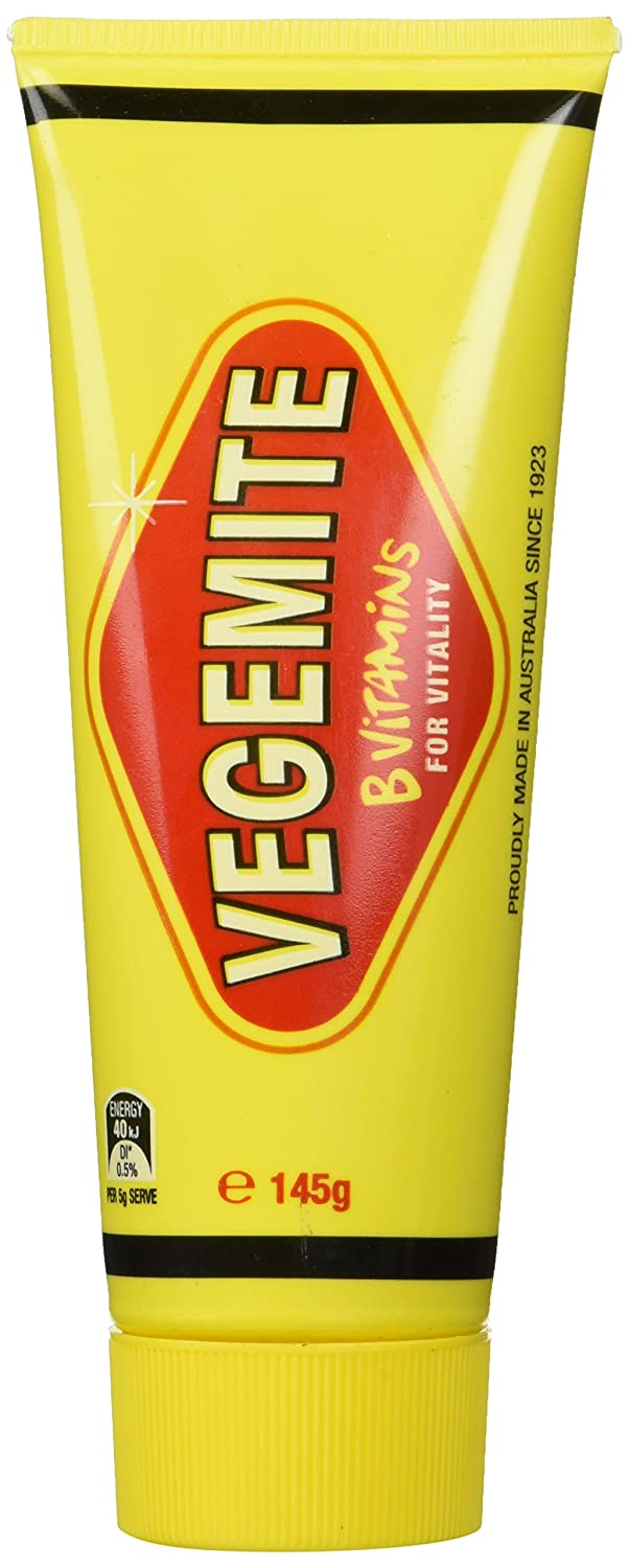 Vegemite in a Tube Concentrated Yeast Extract 145g (Made in Australia)