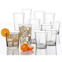 Deals on Circleware Paragon Honeycomb 12 piece Glassware Set