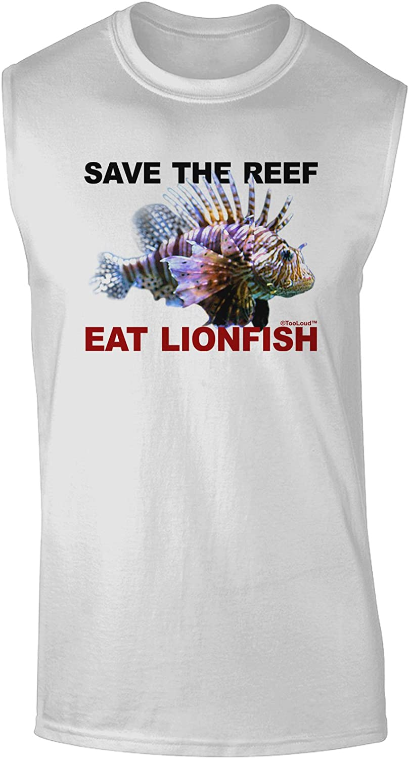 TOOLOUD Save The Reef - Eat Lionfish Muscle Shirt