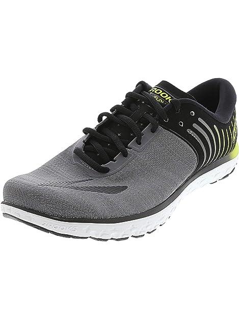 f6ce9cb95a6 Brooks Men s PureFlow 6 Running Shoe (BRK-110247 1D 3885250 8 078 Black