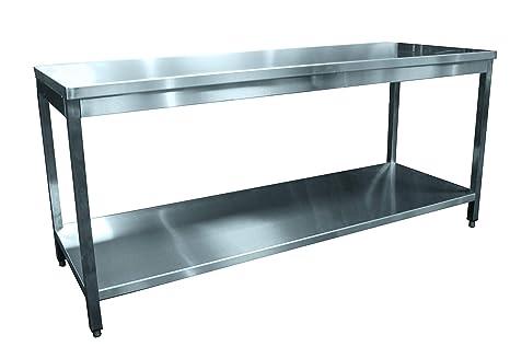 bud-dctce106 mesa demontable todo acero inoxidable, parte superior ...
