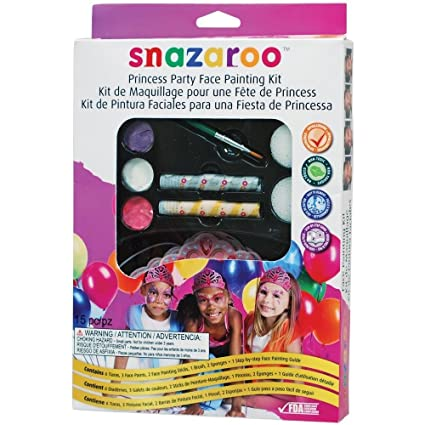 amazon com snazaroo face paint princess party kit