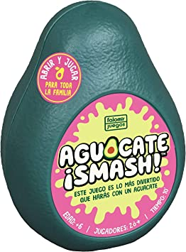 Falomir Aguacate ¡Smash. Juego de Mesa. Cartas, Multicolor (1 ...