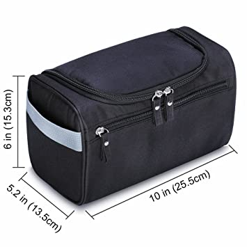 b0889d68566b Amazon.com : Hanging Toiletry Bag-Travel Organizer Cosmetic Make up ...