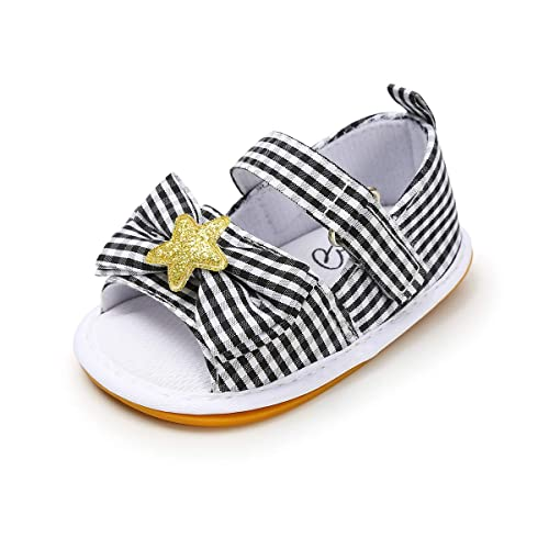 a643d369ec52d FAMI Infant Baby Girls Sandals Summer Shoes Soft Sole Toddler Flats First  Walkers Shoes
