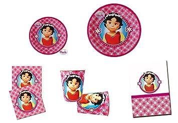 Verbetena, 0210, Heidi, Lote para fiestas y cumpleaños Heidi ...