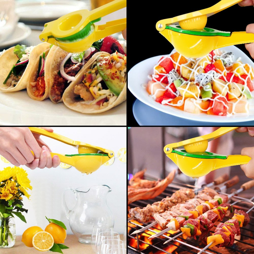 Aifort Handheld Lemon Squeezer, Citrus Lime Juicer, Squeezer Press with Premium Quality Metal