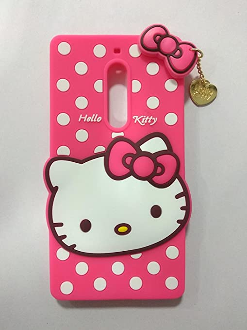 watch d5c67 b0ff1 Qzey Nice Hello Kitty Back Cover for Nokia 5 - Pink