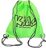 Ear Defenders For Kids EDZ Kidz Sac à dos léger vert