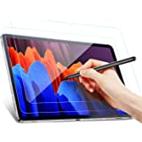 Benazcap for Samsung Galaxy Tab S7 Plus Screen Protector 12.4 inch, [2 Pack] Tempered Screen Protection with Scratch Resistan