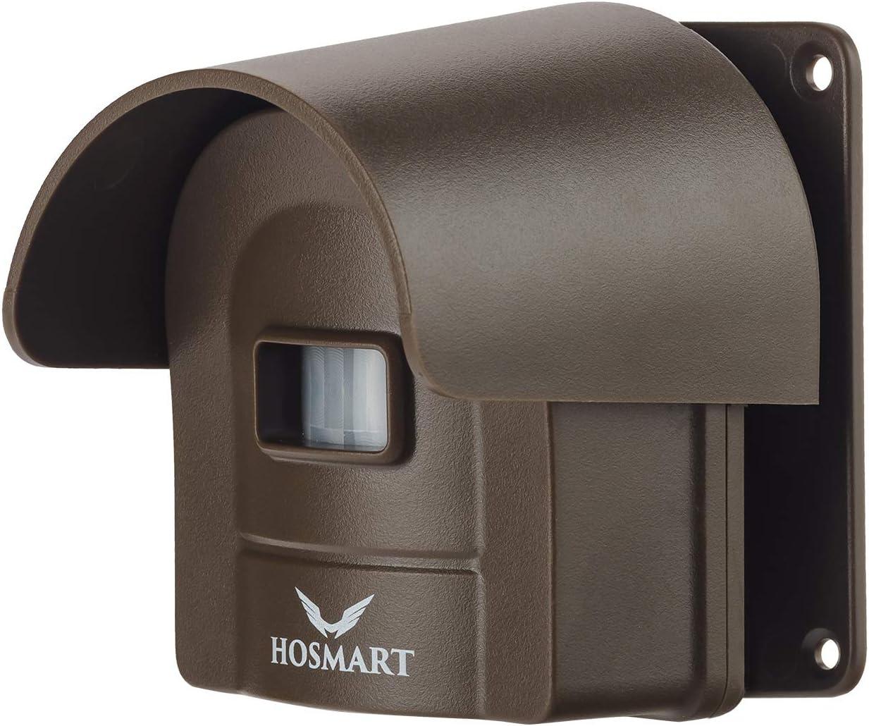 HOSMART Alarme d/'all/ée sans Fil Rechargeable 1//2 Mile Syst/ème D/étecteur de Mouvement /à l/'/épreuve des intemp/éries de Haute qualit/é
