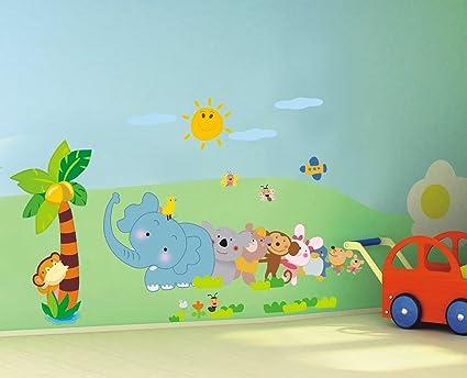 Murales Cameretta Bambini : Yelloo adesivo da parete murale decorazione stickers camera bambini