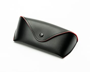 d9ffa02a2c Funnuf Snap Vintage Sunglasses Case PU Leather Case Glasses Pouch Eyewear  Case red Interior  Amazon.ca  Office Products
