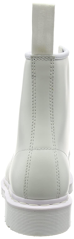 Dr. Martens Smooth Unisex-Erwachsene Core 1460 Mono Smooth Martens Stiefel Elfenbein (Bianco) 511714