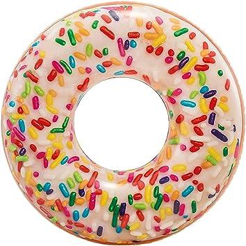 Oferta amazon: Intex 56263NP - Rueda hinchable Donut de colores 99cm x 25cm diámetro