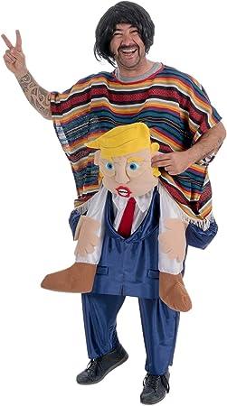 Disfraz de Mexicano sobre Trump adulto U: Amazon.es: Juguetes y juegos