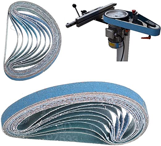 /Confezione da pezzi blu Nastri abrasivi levigatrice Maso Power Tool abrasive metal grinding abrasivi per levigatrice utensile/