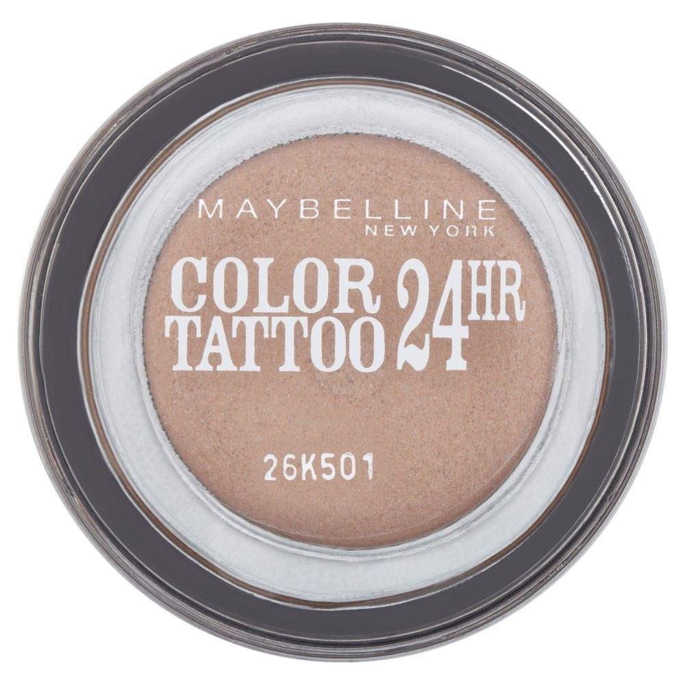 Maybelline Eye Studio Color Tattoo 24hr Eye Shadow - On & On Bronze - Pack of 6