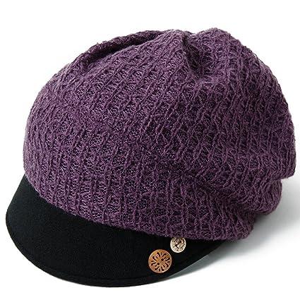 sombrero de los Dientes del otoño y de Invierno Gorros Bordados Pintor de Las Boinas de