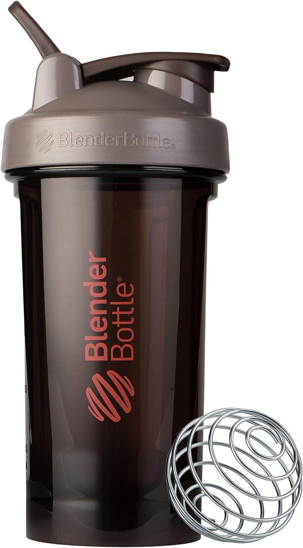 Blender Bottle Pro Series Shaker Bottle, 24-Ounce, Ash
