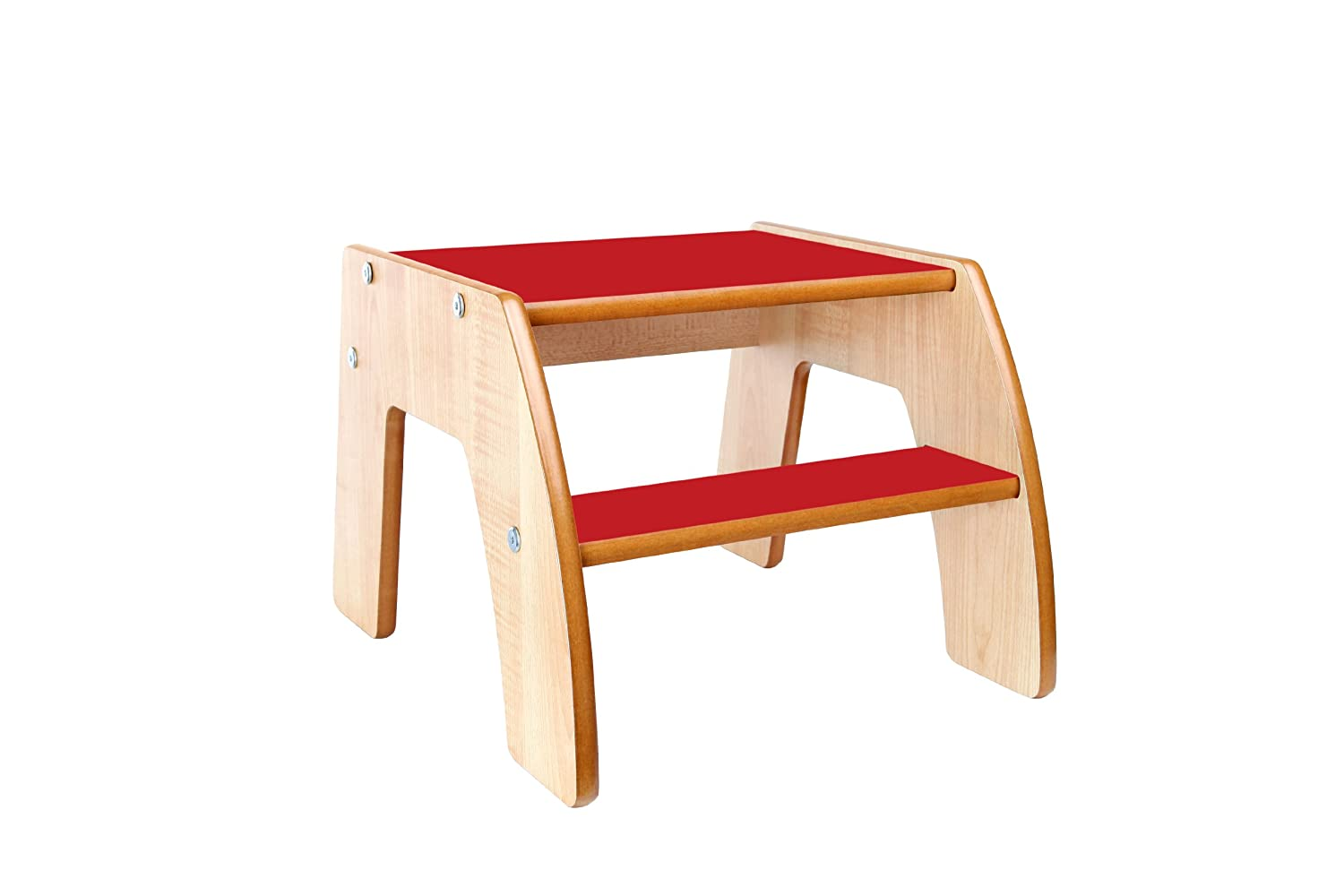 Little Helper FunStep Toddler u0026 Child Safety Step Stool (Maple/Red) Amazon.co.uk Toys u0026 Games  sc 1 st  Amazon UK & Little Helper FunStep Toddler u0026 Child Safety Step Stool (Maple/Red ... islam-shia.org