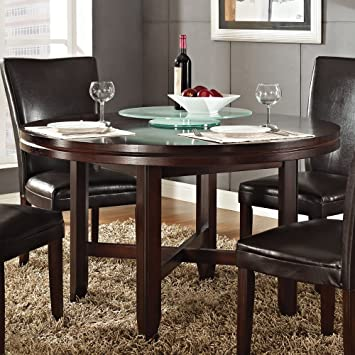 Steve Silver Company Hartford Dining Table, 52u0026quot; Part 57