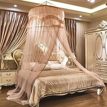 Ruyi Moskitonetze Prinzessin Bett Baldachin Runde Insekt Fliegengitter  Schnell Und Einfach Zu Hängen Mädchen Schlafzimmer Zubehör
