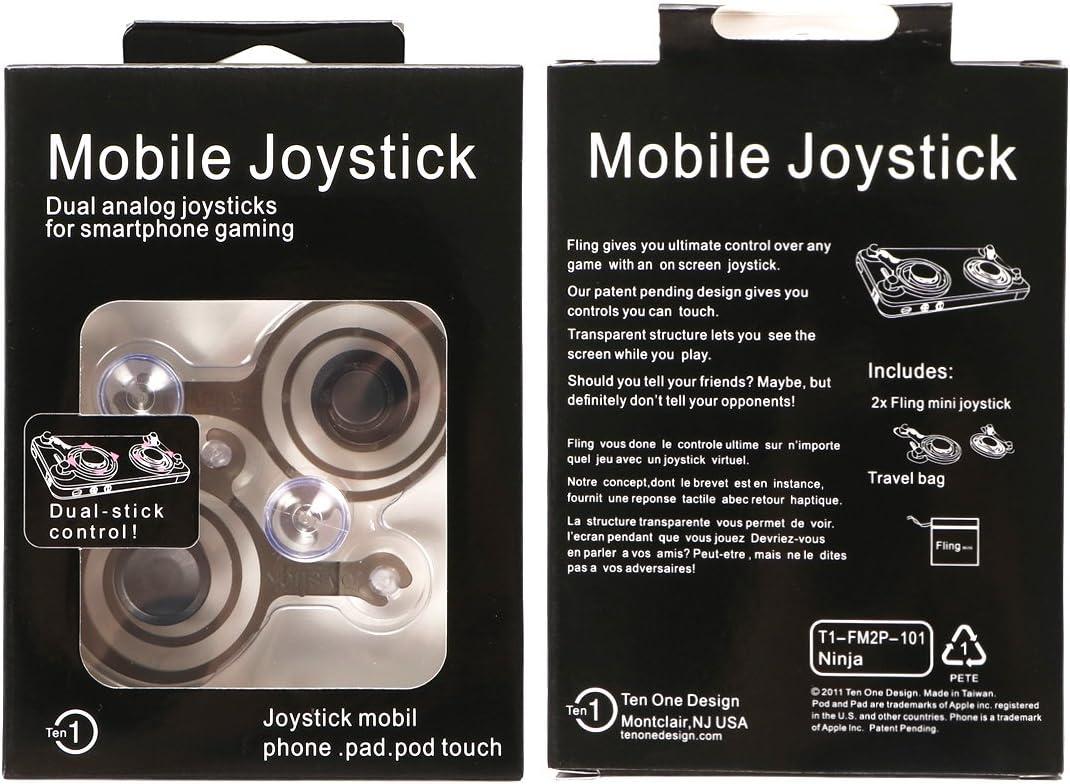 Amazon.com: kilofly 2pc Smart Phone Mobile Game Joysticks ...