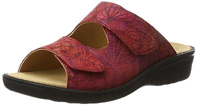Ganter Damen Sonnica-E Pantoletten, Rot (Red), 42 EU
