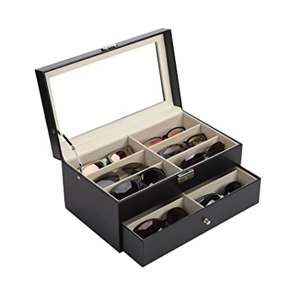6e30f3c9b1 Amazon.com  CO-Z Sunglasses Organizer for Women Men