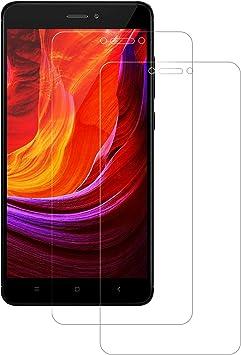 POOPHUNS Cristal Templado Xiaomi Redmi Note 4/Note 4X [2-Unidades ...