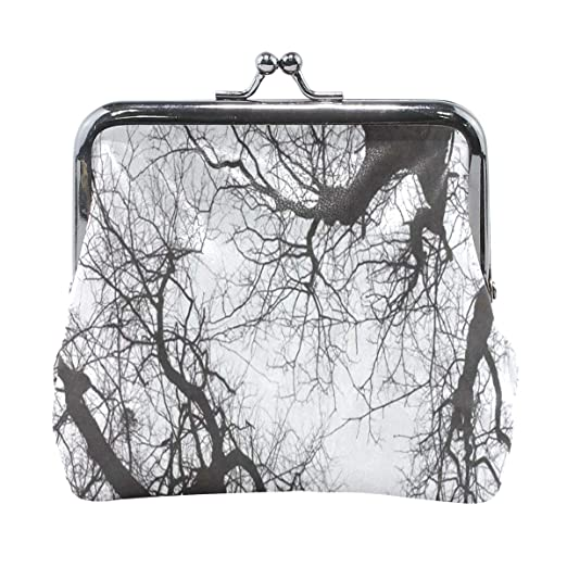 88c6af8f5a4a Coin Purse Bare Tree Sky Forest Womens Wallet Clutch Bag Girls Small ...