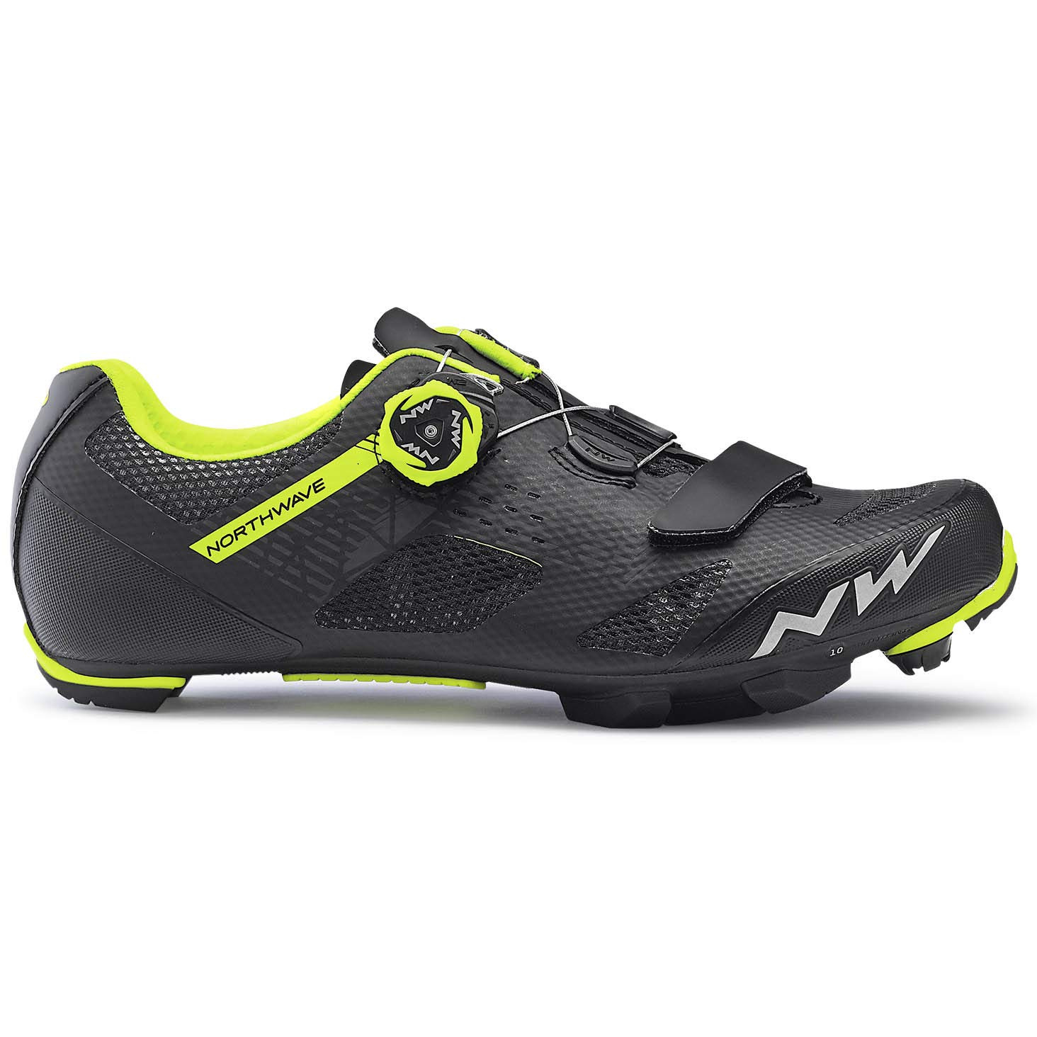 Northwave Razer MTB Fahrrad Schuhe schwarz schwarz Schuhe gelb 2019  Größe  40.5 4df342