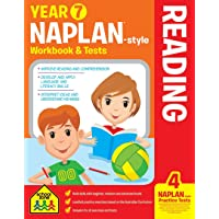 NAPLAN*-style Year 7 Reading Workbook and Tests (new cover)