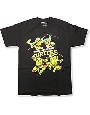 Nickelodeon TMNT Teenage Mutant Ninja Turtles Crew Neck Adult T-Shirts