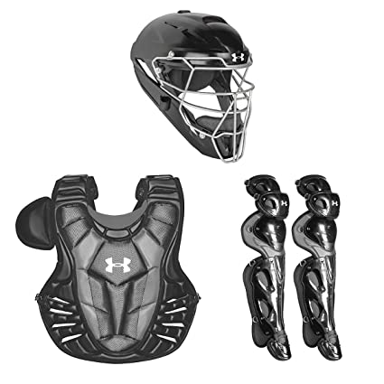 Amazon.com   Under Armour Converge Pro Youth 9-12 Catchers Gear Set ... 565524fbf63f