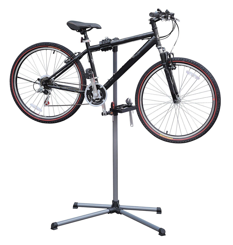 Casa nueva bicicleta soporte mecánico de reparación de banco de ...