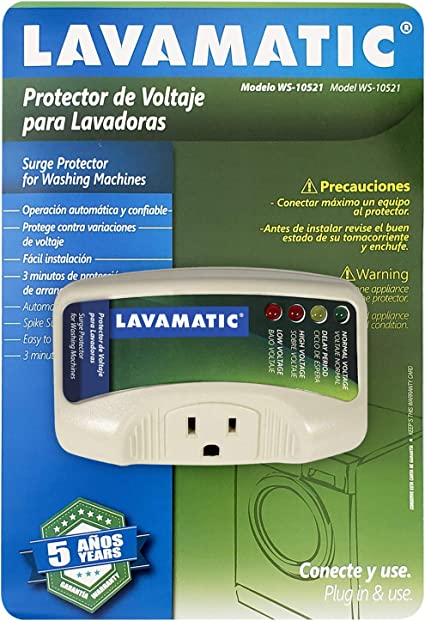 Amazon.com: Lavamatic WS-10521 - Protector electrónico de ...