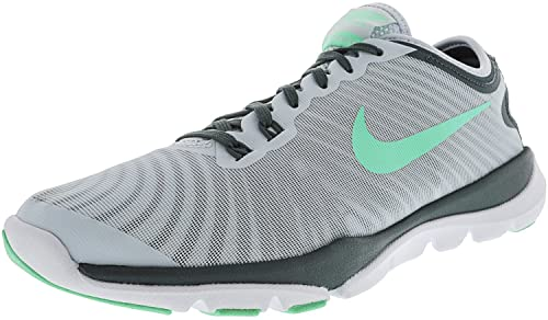 4ed567b4f11 NIKE New Womens Flex Supreme TR 4 Cross Trainer Blue Tint Green 9 ...