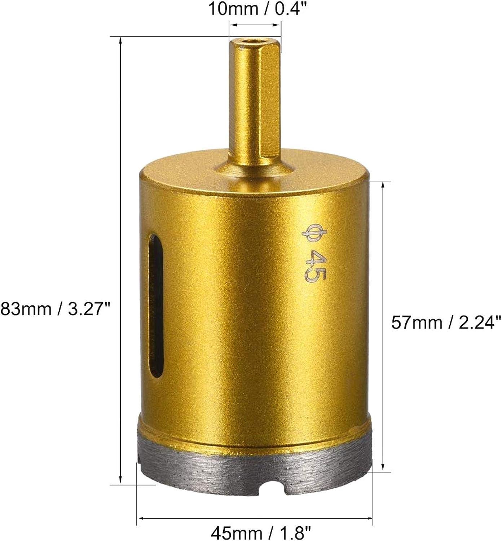 32 mm Steinbohrkrone und Steinkern Beton Diamantbohrer f/ür Granit 32 mm Steinkern Ziegelstein