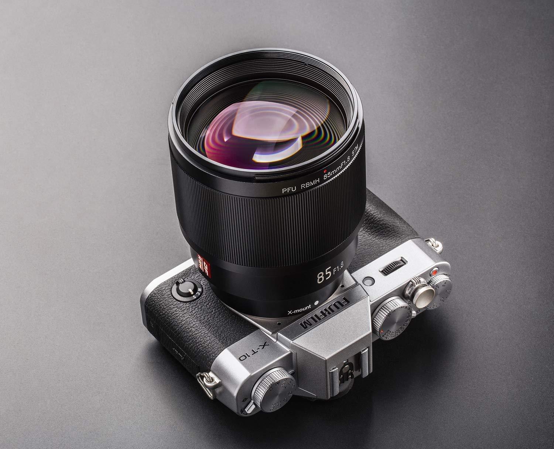 Lente Est/ándar de Montura Completa para C/ámaras Fuji X-Mount X-T3 X-T2 X-T30 X-T20 X-T10 X-T100 X-PRO2 X-E3 X-A20 X-A5 VILTROX 85mm F1.8 STM Lente de Retrato con Enfoque Autom/ático