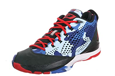 6e35c0b0b17 Image Unavailable. Image not available for. Color  Air Jordan CP3.VII -  Black   Sprint Red-Chambray Blue-Game Royal