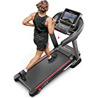 Sportstech Tapis de Course Electrique Pliable F37 Professionnel jusqu'à 20 km/h, système d'autolubrification, Compatible avec App, Inclinaison 15%, Bluetooth USB, MP3 (Reconditionné)