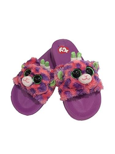 amazon com ty beanie boo girls slide sandals sandals