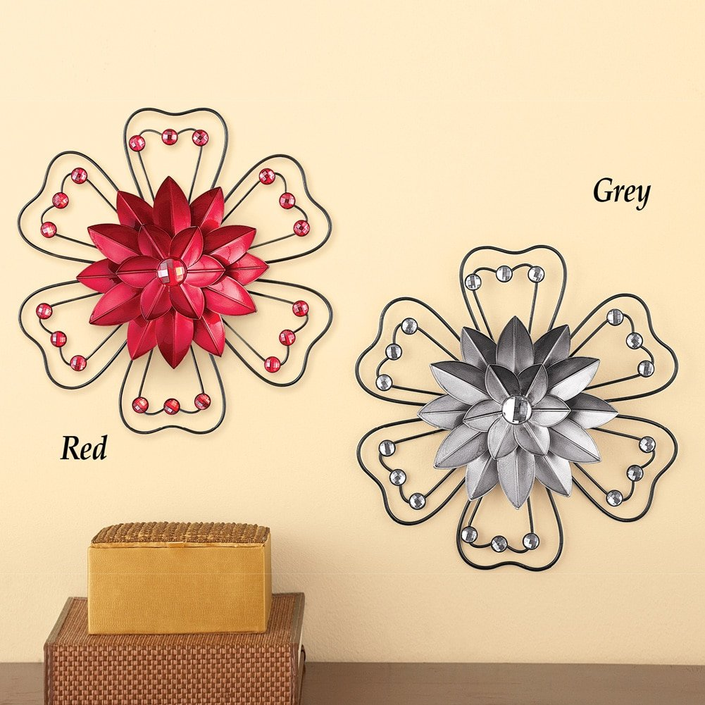 Awesome 3d Flower Wall Art Component - The Wall Art Decorations ...