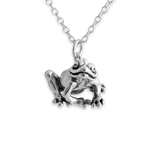 roberto product white gold diamond coin pendant frog necklace gemstone